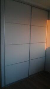 Шкаф купе з фасадом дсп